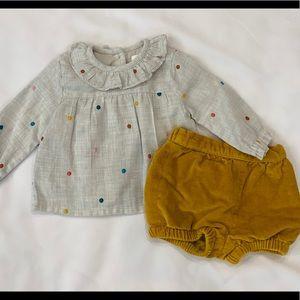 Baby Boden Nostalgic Embroidered Play Set 0-3 Mini